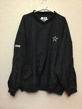 logo athletic Dallas Cowboys Castrol Pull Over Jacket Coat XL
