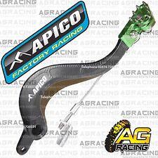 Apico Black Green Rear Brake Pedal Lever For Kawasaki KX 450F 2009 Motocross New