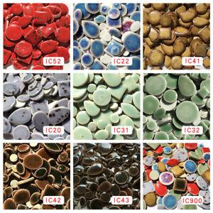90pcs Irregular Ultrathin Ceramic Mosaic DIY Craft Art Jewelry Mosaic Making