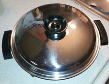 "TOWNECRAFT  11"" GRAND ELECTRIC SKILLET #92010 STAINLESS STEEL LIQUID CORE 1200w"