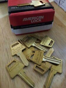 American Lock PTKB2 ORIGINAL KEY BLANK Lot of 40