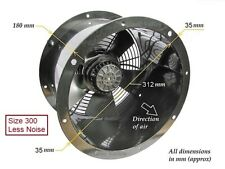 """Industrial Commercial Cased Extractor Duct Fan 300mm (12"""") Powerful New"""