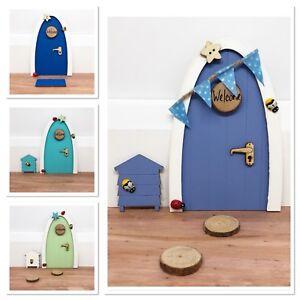 Boys  Elf / Fairy Door Gift set  personalised