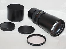Zeiss Tele-Tessar PQ 350mm f/5.6  lens for Rollei 6000 series cam: 6003, 6008