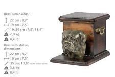 Dogue de Bordeaux, dog urn made of cold cast bronze, ArtDog, Usa - kind2