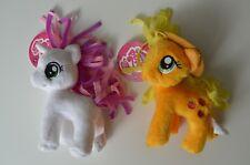 "(2) My Little Pony Friendship is Magic G4 5"" Plush - Belle Unicorn & Apple Jack"