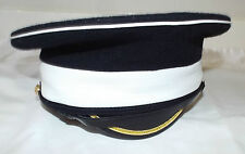COLDSTREAM GUARDS MUSICIANS DRESS PEAKED CAP - Size: 55cm , British Army Issue