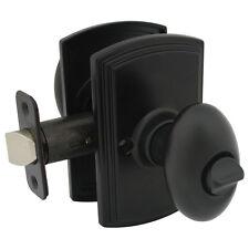 Canova Design Italian Collection Black Privacy Door Lever Knob