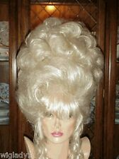 SIN CITY WIGS BLONDE BEAUTY! FIERCE HOT UP DO FULL PERFECT CURLS BIG HAIR LOOK!