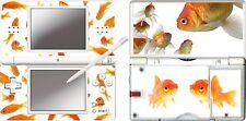 nintendo DS Lite - GOLDFISH -  4 Piece Decal / Sticker Skin UK