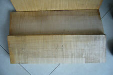 One piece of violin back wood ,Violin making Nice flamed maple wood  for luthier