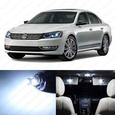 13 x Xenon White LED Interior Light Package For 2012 - 2013 VW Passat B7