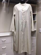 Veritecoeur Japan OS Cotton NATURAL Round Neck Midi Dress