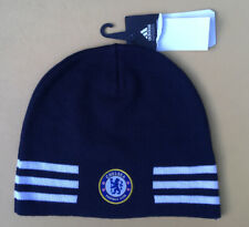 Chelsea Football Club Soccer Beanie Skull Cap in Blue Unisex One Size New