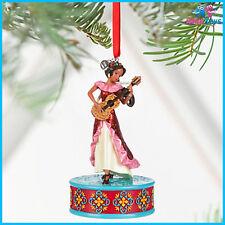 Disney Elena of Avalor Singing Sketchbook Christmas Ornament brand new