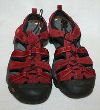Women Skechers Red Fisherman Water Hiking Red Sport Sandal Shoe Size 8 38