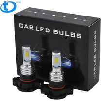2504 Psx24W Led Fog Light Bulbs Driving Lamp 35W 4000Lm 8000K Ice Blue Us