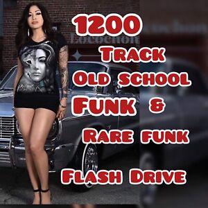 New 8gb  usb flash drive +++* 1200 Funk MP3 Music To Go