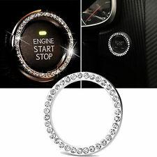 Car Accessories Auto Start/Stop Button Switch Diamond Ring Decorative Universal