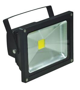 Eagle Waterproof 20W LED IP65 Black Flood Lights L310B