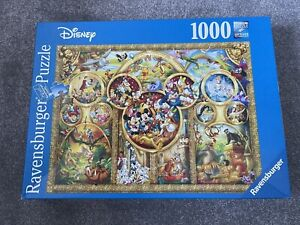 "Sale.""Peter Pan"" Ravensburger by Walt DISNEY 1000 P puzzl.VGC.Complete.B Charity"