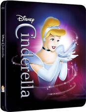 CINDERELLA STEELBOOK DISNEY BLU-RAY UK Release New R2