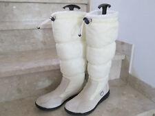 😊 ESPRIT 😊 Winterstiefel Stiefel 39 40 Wildleder Boots Schneeschuhe weiß