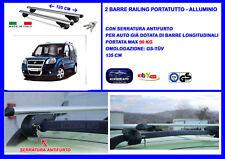 Kit Barre Portatutto -Portapacchi -Portabagagli FIAT Doblo' Maliblu' dal 00>05