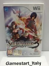SAMURAI WARRIORS 3 NINTENDO WII - NUOVO SIGILLATO NEW SEALED - PAL VERSION