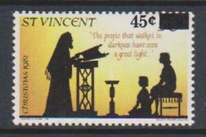 St Vincent - 1983, 45c on 50c Christmas stamp - MNH - SG 718