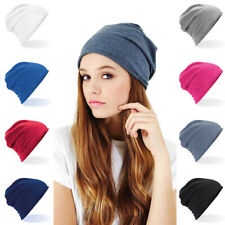 Soft Cotton Cancer Chemo Beanie Hat 100% Jersey Cotton Mens Ladies Hair Loss Hat
