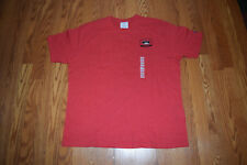 New Mens Champion Unlv Red Short Sleeve Crew Ncaa Shirt Xl X-Large