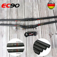 EC90 Kohlefaser Mountainbike Lenker 25.4/31.8*600-760mm Fahrrad Vorbau 60-120mm