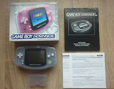 Nintendo Game Boy Advance Handheld-Spielkonsole - Clear Blue + OVP
