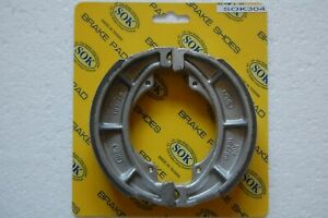 FRONT REAR Brake Shoes for Suzuki TS 125 K 1972