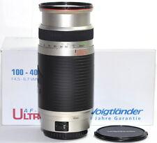 Voigtländer vmv zoom af 100-400mm f/4, 5-6,7 plenamente formato objetivamente para Canon OVP