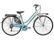 "Bicicletta City Touring GALANT 31D donna 28"" acciaio shimano 6 V CTB bici bike"