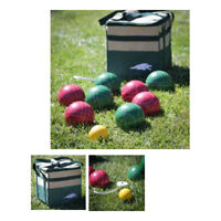 Bocce Ball Set 100mm Ball With Tape Measure And Carry Bag