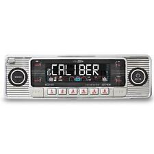 NEW RETRO CLASSIC CAR CD PLAYER CHROME  AM/FM RADIO USB SD Aux In