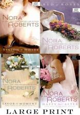 LARGE PRINT EDITIONS Nora Roberts BRIDE QUARTET Series Collection Books 1-4