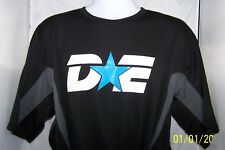 DE Starter Unisex Mens  XL T-shirt Black with Gray Side accents