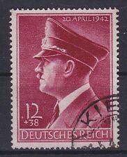 DR Mi Nr. 813 y, gest. Kiel, 53. Geburtstag Deutsches Reich 1942, used