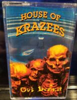 House of Krazees - Outbreed Cassette Tape Twiztid HOK ROC insane clown posse