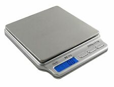 AWS SC 2kg x 0.1g Digital Scale Gram Coin Jewelry Gold Silver Ounce Troy