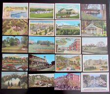 HERSHEY PA LOT OF 20 ANTIQUE & VINTAGE POSTCARDS