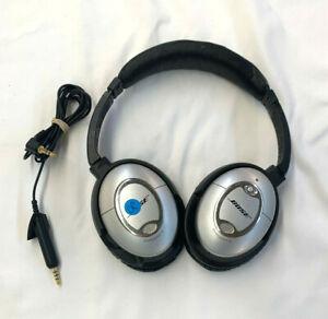 Bose QuietComfort 15 QC15 Headphones - Silver (Apple) *DISTRESSED*