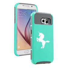For Samsung Galaxy S5 S6 S7 Edge S8 + Shockproof Impact Hard Case Cover Unicorn