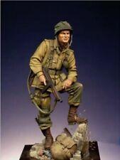 1/24 Resin Figure Model Kit US Soldier Infantry WWII WW2 Unpainted Unassambled