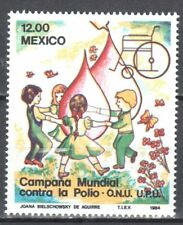 Mexico - 1984 - Children - Butterflies - Mi. 1892 - MNH(**)