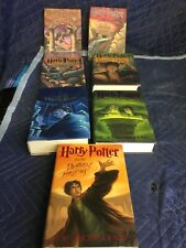 COMPLETE SET HARRY POTTER HARDCOVER BOOKS | 1 - 7 with dustjackets